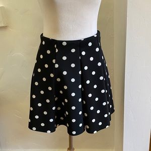 ZARA Polka Dot Skirt - Size L fits like M